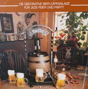 Bier-Zapfanlage für jede Feier und