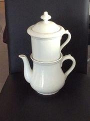 Hutschenreuther Teekanne mit Filtereinsatz