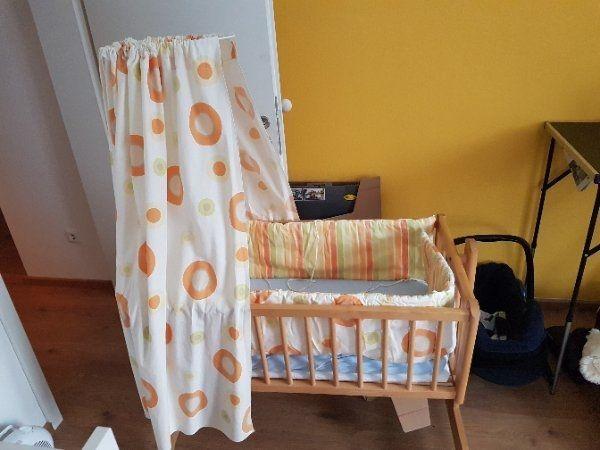 Stubenwagen mit zubehör in offenburg wiegen babybetten
