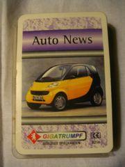 Kartenspiel Auto News,