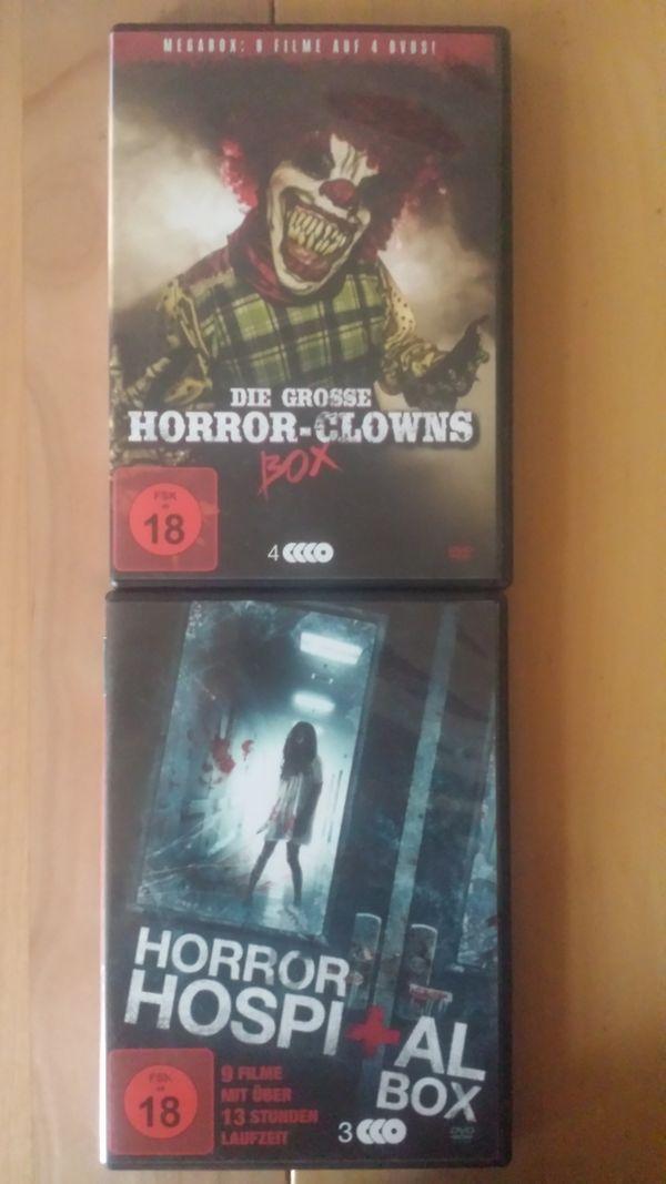 DVD Paket Horrorfilme