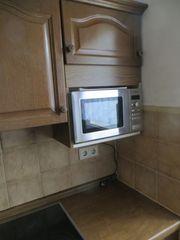 Einbauküche in Eiche mit Geräten