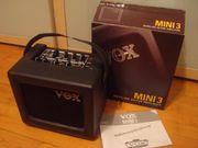 Vox Mini 3 Verstärker - neuwertig