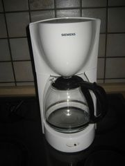 Siemens Kaffeemaschine Filterkaffeemaschine Café Weiß