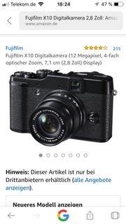 verkaufe Fujifilm x 10 mit