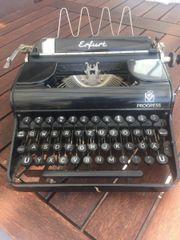 alte Schreibmaschine Erfurt