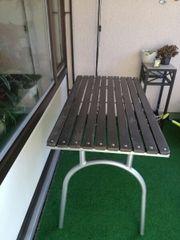 Balkon/Gartentisch