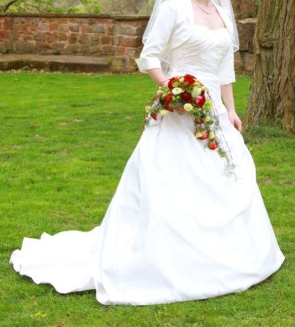 Hochzeitskleid A-Linie in Queidersbach - Damenbekleidung kaufen und ...