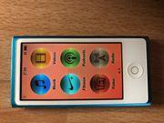 iPod Nano blau 7 Generation