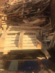 Brennholz zu verschenken unbehandelte Paletten