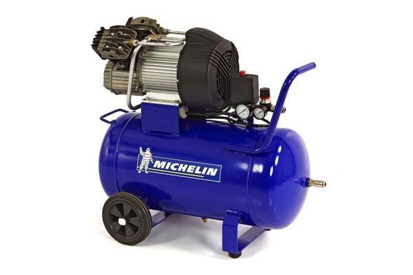 Leiser Michelin MBV50-3 Kompressor 50 Liter Kessel 2,25 KW 360 Liter ...