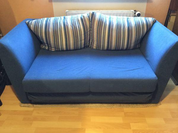 Schlafcouch Blau sofa schlafcouch blau in bürstadt polster sessel kaufen