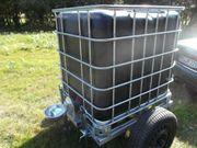 Weidetränke Weidefass Wasserwagen