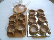 Teeservice aus einem Land vor