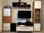 TV Sideboard 2x Regal Schrank