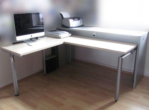 Schreitisch L-Form in Duisburg - Büromöbel kaufen und verkaufen über ...