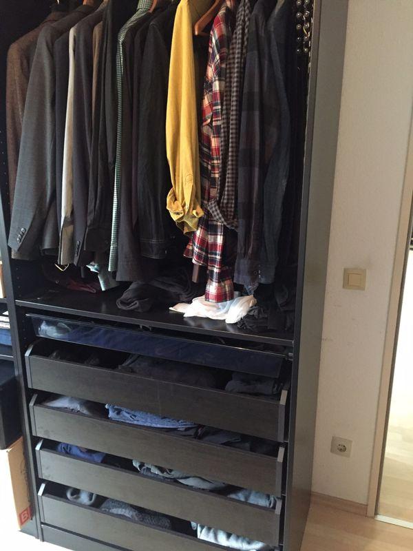 ikea pax kleiderschrank gebraucht kaufen nur 2 st bis 60 g nstiger. Black Bedroom Furniture Sets. Home Design Ideas