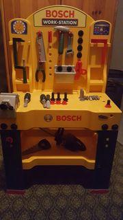 Bosch Werkbank mit viel Zubehör