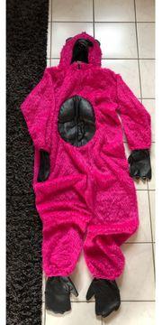 Kostüm Faschingskostüm Gorilla pink