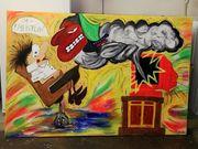 Gemälde auf Künstlerleinwand