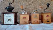 4 Kaffeemühlen