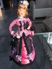Püppchen historische Kleidung Rokoko Handarbeit