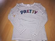 Sweatshirt Langarmshirt Mädchen Shirt Größe