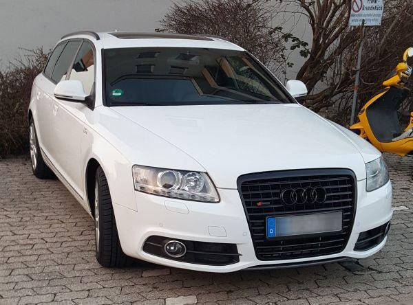 Audi A6 4F 3. 0TDI Avant S-Line Quattro Exclusiv Facelift 2011 TOP - Traunstein - Audi, A6, Kombi, Diesel, 171 kW, 376.900 km, EZ 11/2006, Schaltgetriebe, Weiß, Scheckheftgepflegt. ABHOLPREIS ! Bitte erpart mir VHB Anrufe und sucht anderen !!Motor, Getriebe einwandfrei mit voller Hütte - Für mehr Details & Bilder einfac - Traunstein
