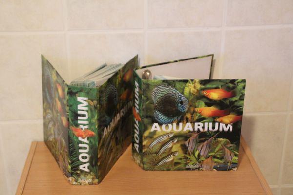 2 Ordner Aquarium