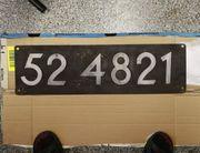 Original Lokschild BR 52 4821