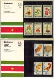 Briefmarken, Suriname