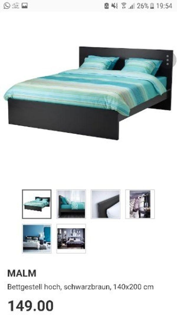 komplettes bett ankauf und verkauf anzeigen finde den. Black Bedroom Furniture Sets. Home Design Ideas