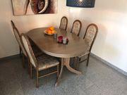 Massivholztisch 160x100cm ausziehbar bis 205cm