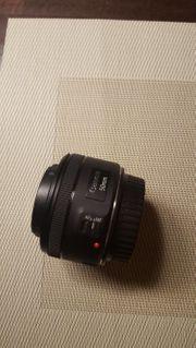 50mm Objektiv für Canon