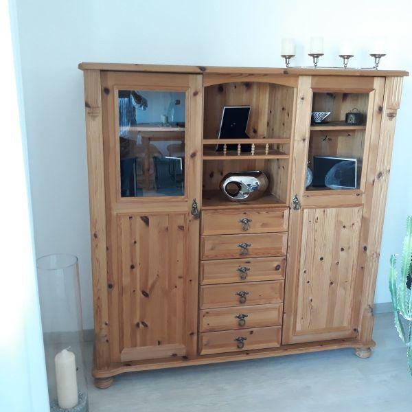 wohnzimmerschrank kiefer ankauf und verkauf anzeigen billiger preis. Black Bedroom Furniture Sets. Home Design Ideas