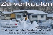 Winterfestes Vorzelt Bei Bedarf mit