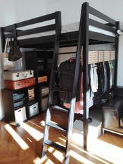 Bett Hochbett Ikea mit begehbaren