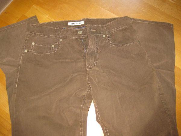 MAC Jeans Arne Leather Touch Gabardine-hazelnut NEU, ( NP. 89,90 EUR), gebraucht gebraucht kaufen  63628 Bad Soden-Salmünster
