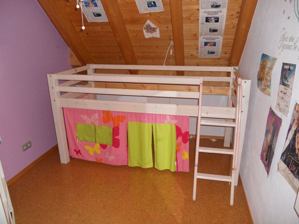 Etagenbett Kinder Vollholz : Kinder hochbett wand montiert vollholz in kr passau
