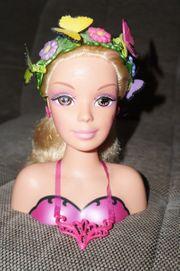 Barbie Mariposa Frisurenkopf