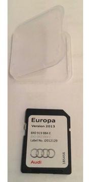 Original Audi Navigations SD-Karte Europa