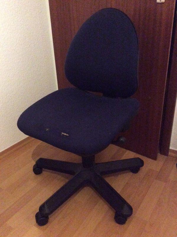Schreibtischstuhl Blau Schwarz In Mannheim Buromobel Kaufen Und