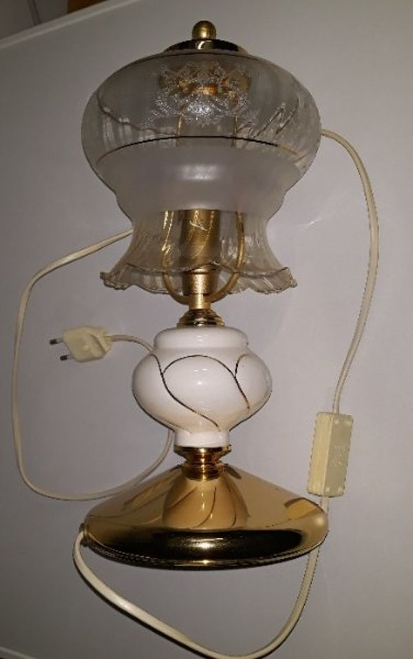 schöne Tischlampe E14Tischleuchte Retro