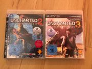 Uncharted 2 3 PS3-Set
