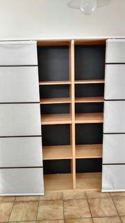 Wohnzimmerschrank mit Schiebetüren aus Japanpapier