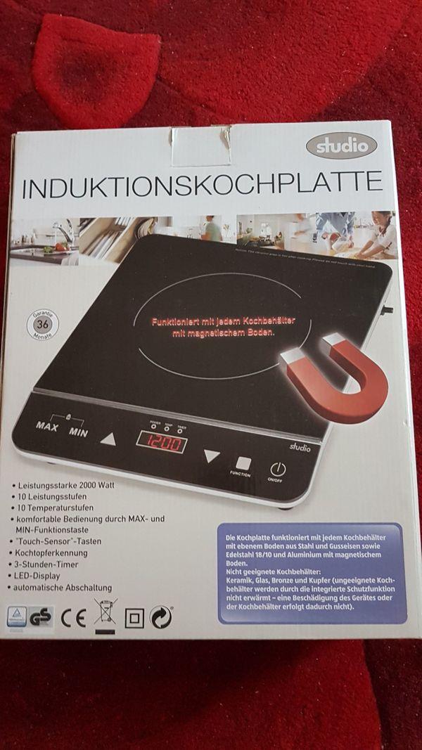 Verkaufe Nicht Gebrauchte Induktionskochplatte Studio In