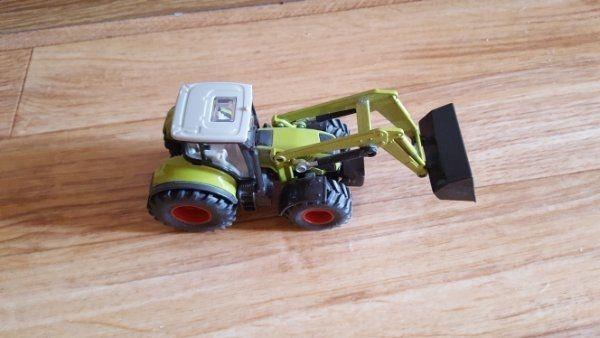 Traktor mit frontlader und anhänger siku in wiesloch