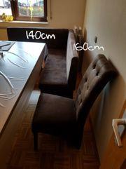 Eckbank + 2 Stühle
