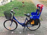 Damenrad mit Kindersitz 26 zoll