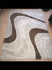 2x Teppiche beige